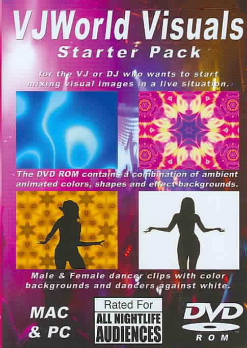 VJ WORLD VISUALS STARTER PACK (DVD)